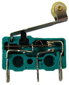 Limit switch perangkat masukan input otomasi industri